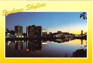 Placid Spokane River - Spokane, Washington