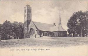 The Chapel, Tufts College, Medford, Massachusetts, PU-1906