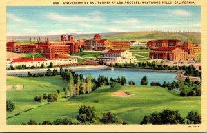 California Westwood Hills University Of California At Los Angeles Curteich