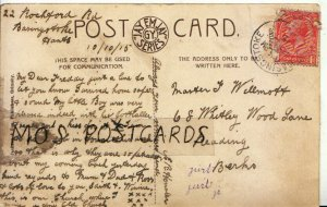 Genealogy Postcard - Willmott - Whitley Wood Lane - Reading - Berks - Ref 9150A