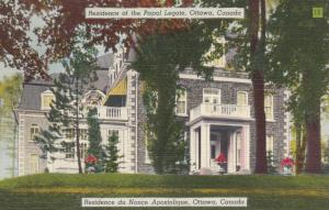 OTTAWA , Ontario , Canada , 30-40s ; Residence of Papal Legate