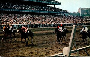 New York Long Island Aqueduct The Big A Horse Racing Driving For ...