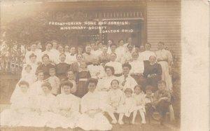 G45/ Dalton Ohio RPPC Postcard c1910 Presbyterian Home Missionary Society