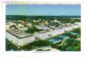 The New Massive Government Buildings on Constitution & Pennsylvania Ave Triangle