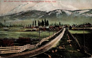 California Shasta Springs and Mount Shasta 1908
