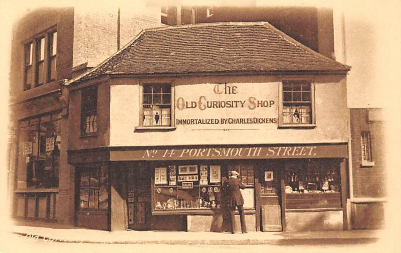 The Old Curiosity Shop Portsmouth Street Lincolns Inn Fields HipPostcard