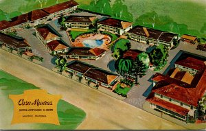 California monterey Casa Munras Hotel and Cottages 1956