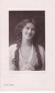 RP; English singer and actress, Zena Dare, PU-1907