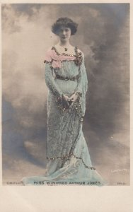RP: Actress Miss Winifred Arthur Jones , 00-10s