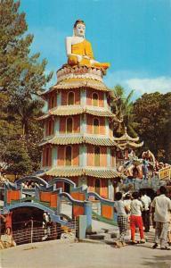 Singapore Malaysia Haw Par Villa Pagoda Street View Vintage Postcard K79809