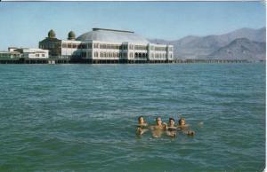 US    PC1334   SALTAIR BATHERS, GREAT SALT LAKE