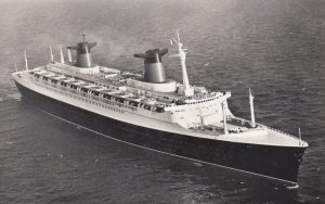 RP: French Line Ocean Liner FRANCE 1930-40s