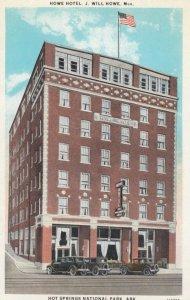 HOT SPRINGS NATIONAL PARK, Arkansas, 1910s; Howe Hotel