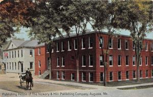 Augusta Maine~Publishing House of Vickery & Hil Publishing Company~c1910 Pc