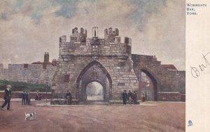 YORK, Yorkshire, England, 1900-1910s; Wormgate Bar, TUCK