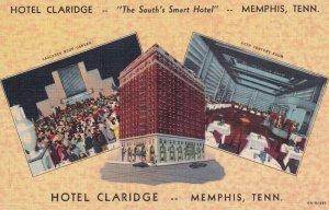 MEMPHIS, Tennessee, 1930-1940's; Hotel Claridge