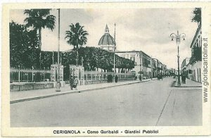 07862  CARTOLINA d'Epoca - FOGGIA: CERIGNOLA