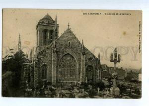 235613 FRANCE LOCRONAN L'Abside Calvaire cemetery Vintage