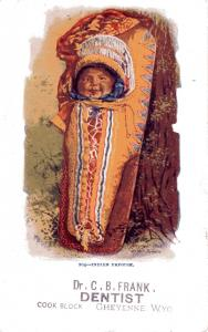 #204 Indian Papoose, Undivided Back, pre-1907