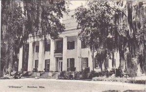 Mississippi Natchez D'Evereux Albertype