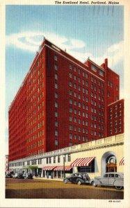 Maine Portland The Eastland Hotel 1946 Curteich