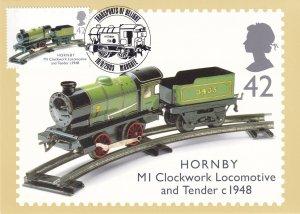 Hornby MI Clocktower Toy Model Train Limited Edition Margate Frank Postcard