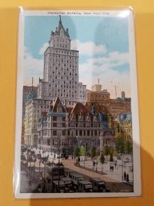 Antique Postcard, Heckscher Building, New York City
