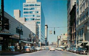 Portland Oregon~One Way, That Way Nice 1950s Cars~Richman Bros~Bedell