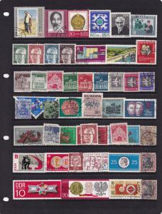 Germany Nigeria Australia Ceylon Congo Old Stamp Bundle Job Lot