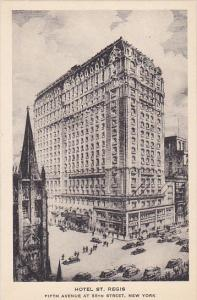Hotel St Regis New York City Albertype