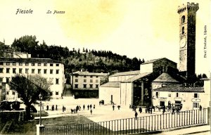 Italy - Fiesole. The Square