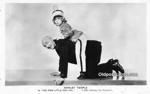 Actress Shirley Temple The Poor Little Rich Girl Unused