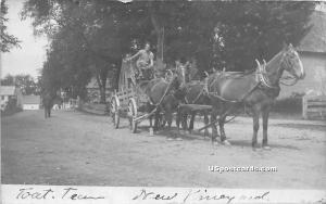 Horse & Carriage New Vineyard ME Unused
