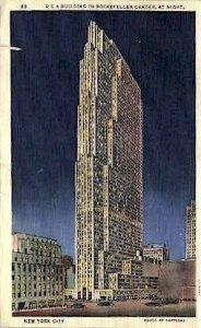 Rockefeller Center - New York City, New York