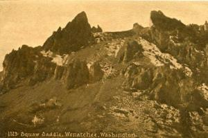 WA - Wenatchee, Squaw Saddle