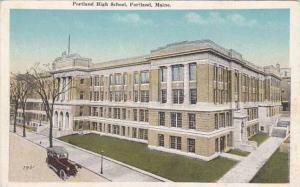 Maine Portland Portland High School