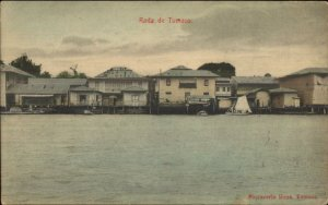 Tumaco Colombia c1910 Used Postcard