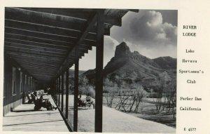 RP: PARKER DAM , California , 1930-40s ; River Lodge ; FRASHERS E 4577