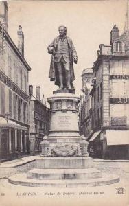 Statue De Diferot, Diderot Statue, Langres (Haute Marne), France, 1900-1910s