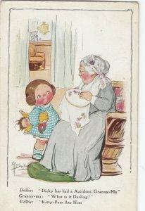 Viola Grace Gebbie Wiederseim Drayton; Dollie & Grand-ma , 1916