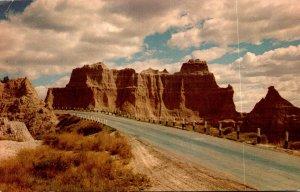 South Dakota Badlands National Monument Castle OIn Cedar Pass