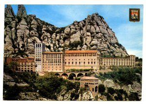 Spain - Montserrat. Aerial View and Monastery