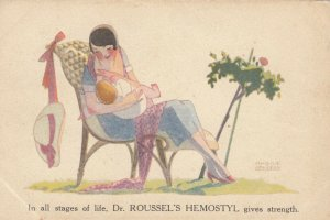 In all Stages of Life, Dr. ROUSSEL'S HEMOSTYL gives Strength, 1910-20s
