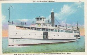 MARTHAS VINYARD , Massachusetts, 1900-10s , Steamer