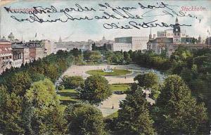 Kungstradgarden, Stockholm, Sweden, PU-1906