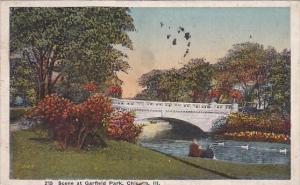 Illinois Chicago Scene At Garfield Park 1920