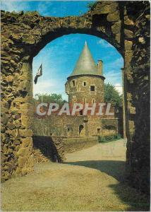 Modern Postcard Chateau de Fougeres L and V Tower Gu�madeuc