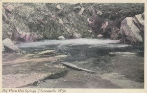 THERMOPOLIS, Wyoming, 1900-10s; Big Horn Hot Springs