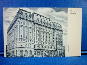 Early 1900's Hotel Astor, New York City, N.Y. w/Horse Carriages Antique Postcard
