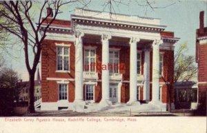 ELIZABETH CAREY AGASSIZ HOUSE, RADCLIFFE COLLEGE, CAMBRIDGE, MA PRE-1907